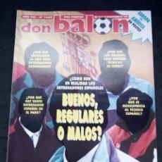 Coleccionismo deportivo: REVISTA DON BALON. AÑO 1995. NUM.1048. CON POSTER AMERICA VS EUROPA. Lote 149745846