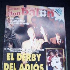 Collectionnisme sportif: REVISTA DON BALON. AÑO 1995. NUM.1049. CON POSTER DEL ESPAÑOL. Lote 149745926