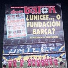 Collectionnisme sportif: REVISTA DON BALON. AÑO 1995. NUM.1050. Lote 149745954