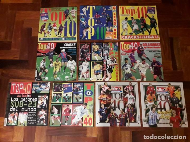 LOTE REVISTAS FUTBOL DON BALON TOP 40 (Coleccionismo Deportivo - Revistas y Periódicos - Don Balón)