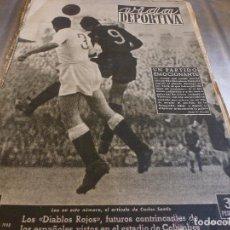 Colecionismo desportivo: VIDA DEPORTIVA Nº:165(2-11-48) BARÇA 4 VALENCIA 3 Y R.MADRID 3 ESPAÑOL 1. Lote 150140622