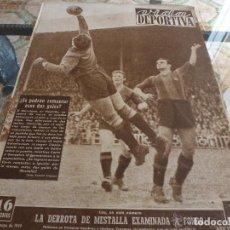 Colecionismo desportivo: VIDA DEPORTIVA Nº:193(17-5-49)COPA ESPAÑOL 1 BILBAO 2 Y VALENCIA-BARÇA-FOTOS. Lote 150172026
