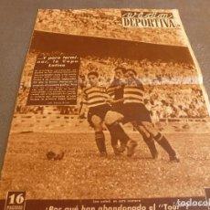Coleccionismo deportivo: VIDA DEPORTIVA Nº:200(5-7-49)!!!1º CAMPEÓN ESPAÑOL COPA LATINA!!!!BARÇA 2 SPORTING LISBOA 1, NASTIC . Lote 150173038