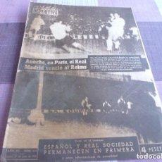 Coleccionismo deportivo: VIDA DEPORTIVA Nº:510(27-6-55)!!!FINAL COPA LATINA EN PARIS STADE REIMS 0 R.MADRID 2 !!!GOLF PRAT. Lote 150289582