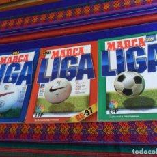 Colecionismo desportivo: MARCA GUÍA LIGA 95 96, 96 97 Y 97 98. MUY BUEN ESTADO GENERAL.. Lote 150532738