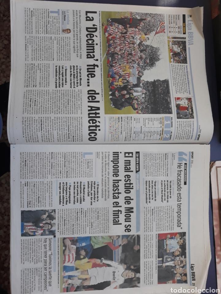 Coleccionismo deportivo: Sport 18 mayo 2013 N° 12098 Atleti Madrid campeon copa Mourinho 0 títulos - Foto 2 - 150648702