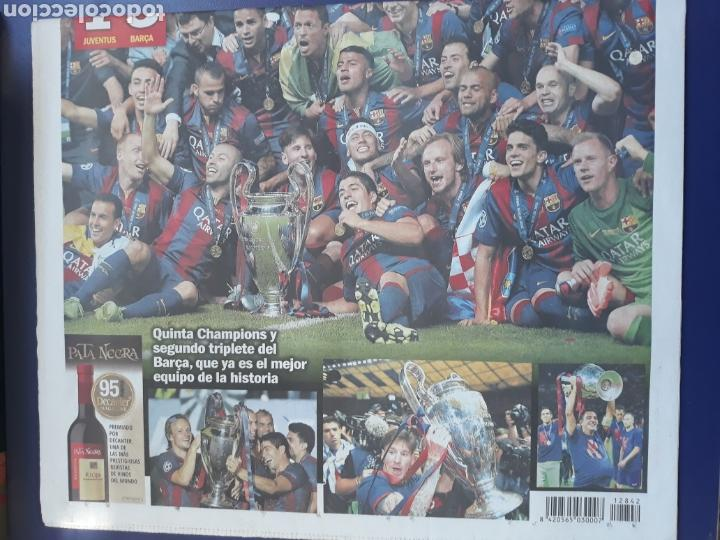 Sammelleidenschaft Sport: Sport 7 Junio 2015 N° 12842 Barcelona campeon champions 3-1 Juventus Turin - Foto 4 - 150649702