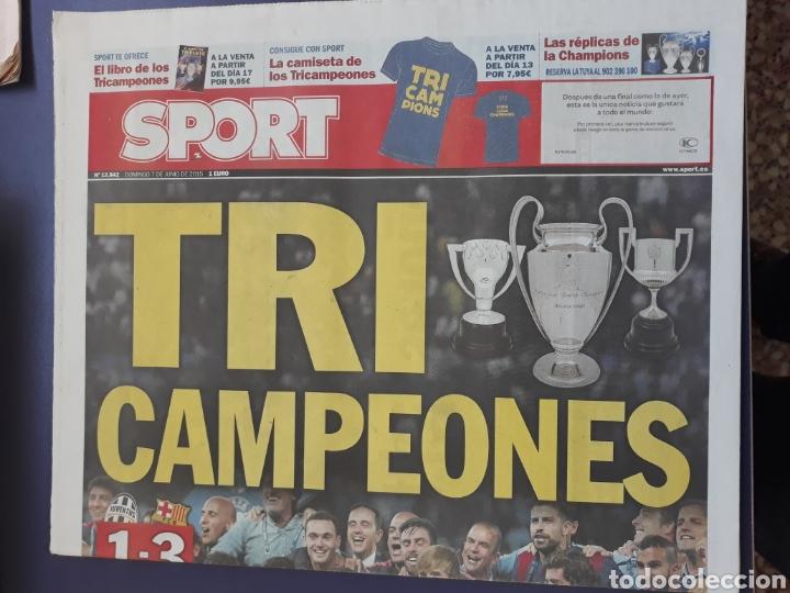 Sammelleidenschaft Sport: Sport 7 Junio 2015 N° 12842 Barcelona campeon champions 3-1 Juventus Turin - Foto 2 - 150649702
