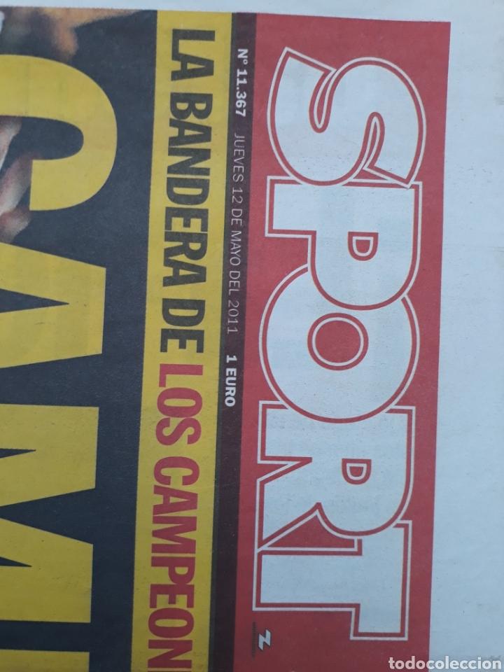 Coleccionismo deportivo: Sport 12 de Mayo de 2011 N°11367 Barcelona campeon de liga tricampeon guardiola - Foto 4 - 150651722