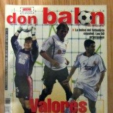 Coleccionismo deportivo: REVISTA DON BALON DB 1311 DICIEMBRE 2000 POSTER ARSENAL. Lote 150671382