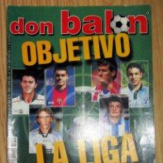 Coleccionismo deportivo: REVISTA DON BALON DB 1240 JULIO 1999 LIGA 1999-2000. Lote 150671762