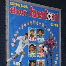 Coleccionismo deportivo: REVISTA DON BALON, LIGA 97/98, EXTRA Nº 37 - EXTRA LIGA. Lote 150684946