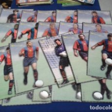 Coleccionismo deportivo: POSTER FICHAS EL MUNDO DEPORTIVO ( 20 POSTER F.C.BARCELONA ) NIKE. Lote 162292718