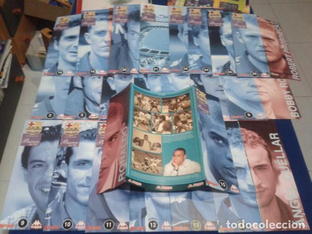 Coleccionismo deportivo: LOTE 22 FICHAS SPORT ( F.C. BARCELONA 96 - 97 ) BARÇA 96 - 97 KAPPA - Foto 2 - 150686186
