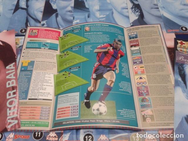 Coleccionismo deportivo: LOTE 22 FICHAS SPORT ( F.C. BARCELONA 96 - 97 ) BARÇA 96 - 97 KAPPA - Foto 3 - 150686186