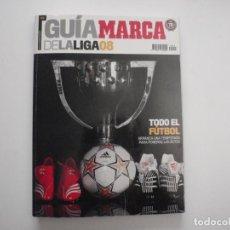 Colecionismo desportivo: GUÍA MARCA DE LA LIGA 2008. LIBRO - REVISTA DE FÚTBOL. Lote 150689622