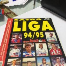 Coleccionismo deportivo: REVISTA DON BALON NÚMERO 27 EXTRA LIGA 94 95 1994 1995. Lote 150759308