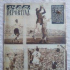 Coleccionismo deportivo: VIDA DEPORTIVA. NUM. 380 DEL 22-12-52. VER FOTOS.. Lote 150775716