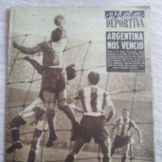 Coleccionismo deportivo: VIDA DEPORTIVA NUM. 378 DEL 08-12-2952. VER FOTOS.. Lote 150777988