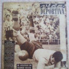 Coleccionismo deportivo: VIDA DEPORTIVA NUM. 376 DE 24-11-1952. VER FOTOS.. Lote 150779369