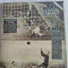 Coleccionismo deportivo: VIDA DEPORTIVA NUM. 375 DEL 17-11-1952. KUBALA SE FUGÓ DISFRAZADO. VER FOTOS.. Lote 150780572