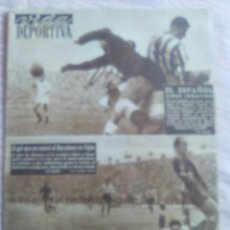 Coleccionismo deportivo: VIDA DEPORTIVA NUM. 370 DE 13-10-1952. KUCHARSKI TENTADO POR ITALIA. VER FOTOS.. Lote 150790650
