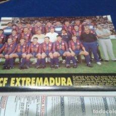 Coleccionismo deportivo: MINI POSTER + FICHA DON BALON 94 - 95 ( C.F. EXTREMADURA + FICHA DE JUGADORES ) + C.D. ORENSE.. Lote 150792142
