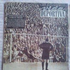Coleccionismo deportivo: VIDA DEPORTIVA NUM. 366 DEL 15-09-1952. POBLET GANO LA VUELTA CATALUÑA. VER FOTOS.. Lote 150795828