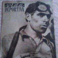 Coleccionismo deportivo: VIDA DEPORTIVA NUM. 358 DEL 21-07-1952. BERNARDO RUIZ TERCERO EN EL TOUR. VER FOTOS.. Lote 150797192