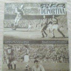 Coleccionismo deportivo: VIDA DEPORTIVA NUM. 351 DEL 03-06-1952. 6 DIAS CICLISMO EN BARCELONA. VER FOTOS.. Lote 150800280