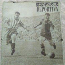 Coleccionismo deportivo: VIDA DEPORTIVA NUM. 345 DEL 21-04-1952. CON POSTER BARÇA CAMPEON 1951-52. VER FOTOS.. Lote 150803076
