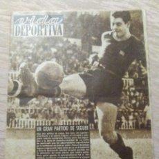 Coleccionismo deportivo: VIDA DEPORTIVA NUM. 212 DEL 27-09-1949. RECORD ESPAÑA SALTO LONGUITUD. VER FOTOS.. Lote 150808750