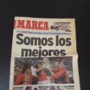 Coleccionismo deportivo: MARCA 25/04/1999. FUTBOL ESPAÑA CAMPEON DEL MUNDO. JAPON,0 - ESPAÑA,2. SUB 20... Lote 150946341