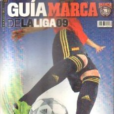 Collectionnisme sportif: GUIA DE LA LIGA MARCA 2009. A-DEP-726,2. Lote 178104594