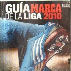 Collectionnisme sportif: GUIA MARCA DE LA LIGA 2010. A-DEP-728. Lote 151126742