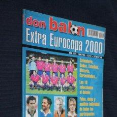 Coleccionismo deportivo: REVISTA, EXTRA DON BALON, EXRA EUROCOPA 2000, Nº 49. Lote 151132046