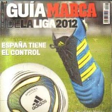 Collectionnisme sportif: GUIA MARCA DE LA LIGA 2012. A-DEP-729. Lote 151134074