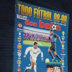 Coleccionismo deportivo: REVISTA, DON BALON,TODO FUTBOL, 98-99, Nº 46, RESUMEN DE LA TEMPORADA. Lote 151134374