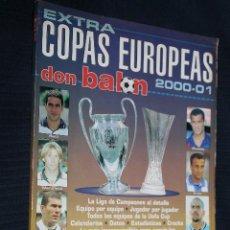 Coleccionismo deportivo: REVISTA, DON BALON, EXTRA COPAS EUROPEAS, 2000-01, Nº 53. Lote 151135914