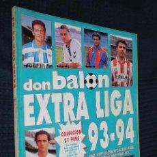 Coleccionismo deportivo: REVISTA, DON BALON, EXTRA LIGA 93-94, EXTRA Nº 24. Lote 151137094