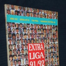 Coleccionismo deportivo: REVISTA, DON BALON, EXTRA LIGA 91/92, EXTRA Nº 21. Lote 151140194