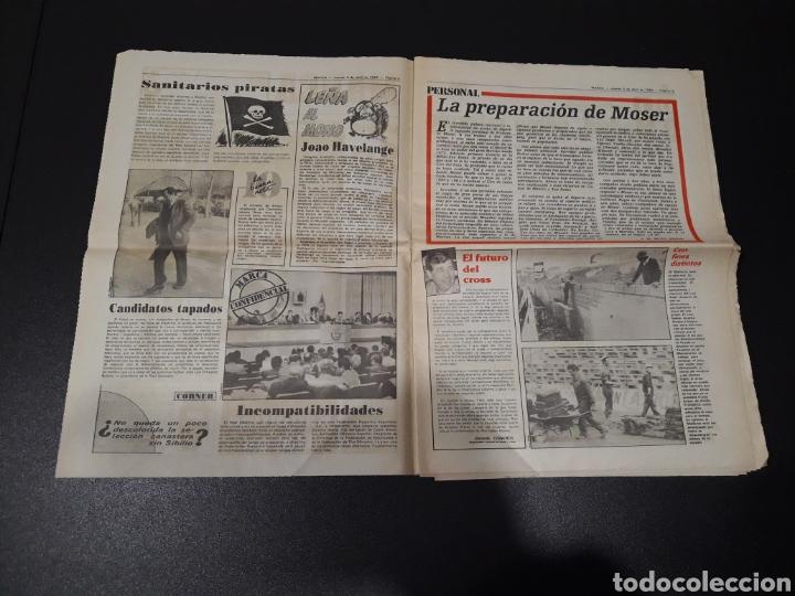 Coleccionismo deportivo: MARCA 5/04/1984. COPA R.MADRID,0 - BILBAO,1. BARCELONA,2 - LAS PALMAS,1. - Foto 2 - 151232706