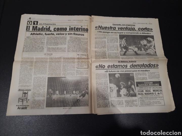 Coleccionismo deportivo: MARCA 5/04/1984. COPA R.MADRID,0 - BILBAO,1. BARCELONA,2 - LAS PALMAS,1. - Foto 3 - 151232706