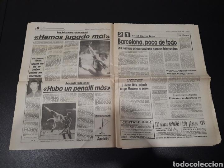 Coleccionismo deportivo: MARCA 5/04/1984. COPA R.MADRID,0 - BILBAO,1. BARCELONA,2 - LAS PALMAS,1. - Foto 4 - 151232706