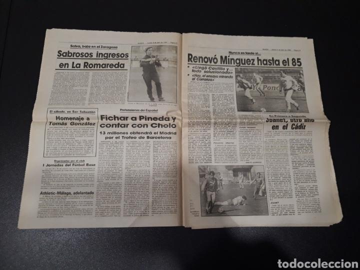 Coleccionismo deportivo: MARCA 5/04/1984. COPA R.MADRID,0 - BILBAO,1. BARCELONA,2 - LAS PALMAS,1. - Foto 5 - 151232706