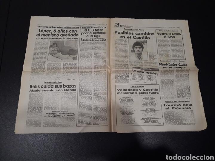 Coleccionismo deportivo: MARCA 5/04/1984. COPA R.MADRID,0 - BILBAO,1. BARCELONA,2 - LAS PALMAS,1. - Foto 6 - 151232706