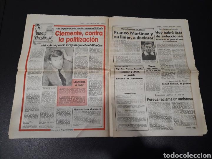 Coleccionismo deportivo: MARCA 5/04/1984. COPA R.MADRID,0 - BILBAO,1. BARCELONA,2 - LAS PALMAS,1. - Foto 8 - 151232706