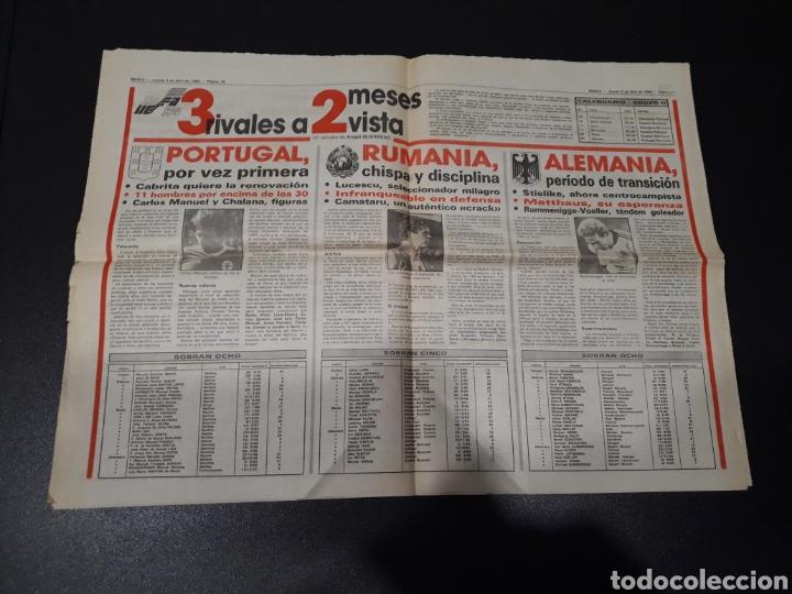Coleccionismo deportivo: MARCA 5/04/1984. COPA R.MADRID,0 - BILBAO,1. BARCELONA,2 - LAS PALMAS,1. - Foto 9 - 151232706
