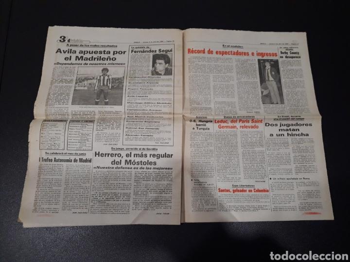 Coleccionismo deportivo: MARCA 5/04/1984. COPA R.MADRID,0 - BILBAO,1. BARCELONA,2 - LAS PALMAS,1. - Foto 10 - 151232706