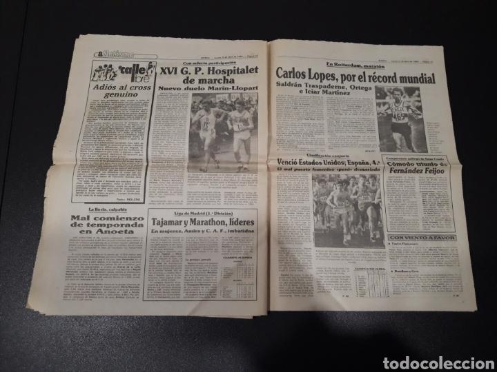 Coleccionismo deportivo: MARCA 5/04/1984. COPA R.MADRID,0 - BILBAO,1. BARCELONA,2 - LAS PALMAS,1. - Foto 12 - 151232706